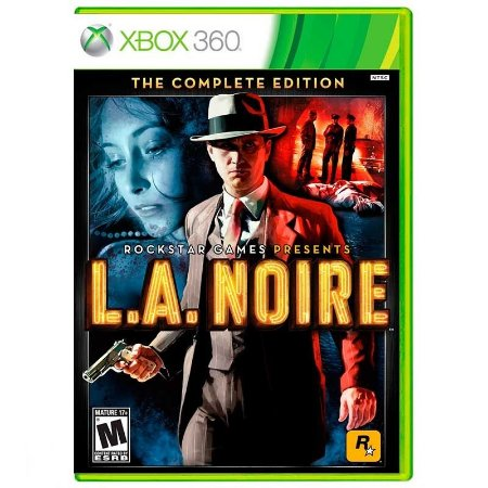 Jogo L.A. Noire (Complete Edition) - Xbox 360