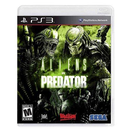 Jogo Alien Vs Predator - PS3