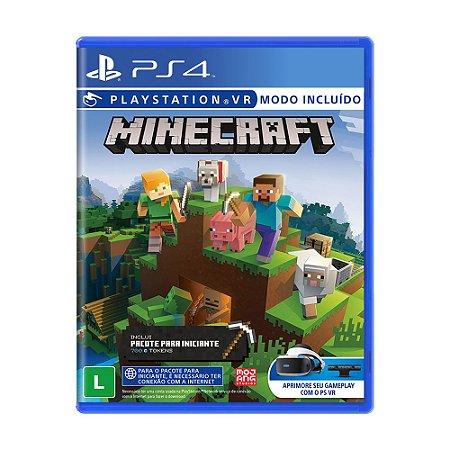 Jogo Minecraft (Starter Collection) - PS4