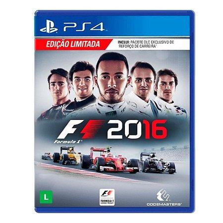 Jogo F1 2016 (Edição Limitada) - PS4