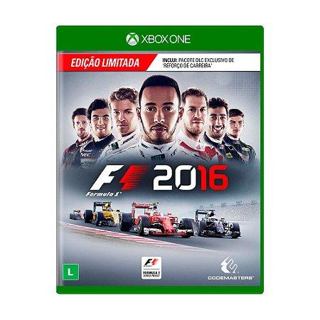 Jogo F1 2016 (Edição Limitada) - Xbox One
