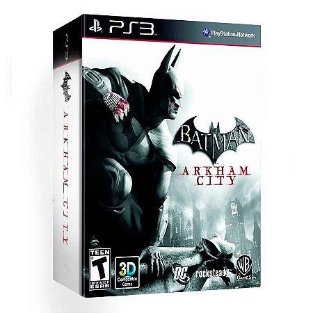 Jogo Batman: Arkham City + História em Quadrinhos - PS3