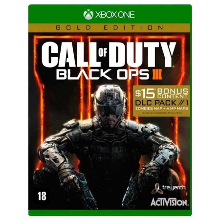 Jogo Call of Duty: Black Ops III - COD BO3 (Gold Edition) - Xbox One