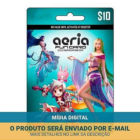 Cartão Presente Aeria R$10