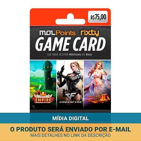 Cartão Presente Mol Points R$75
