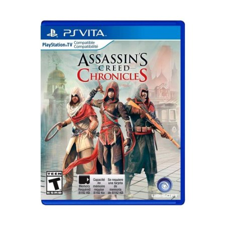 Jogo Assassin's Creed: Chronicles - PS Vita