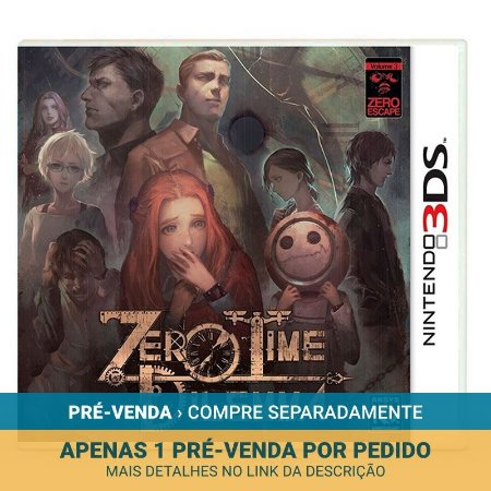 Jogo Zero Escape: Zero Time Dilemma - 3DS