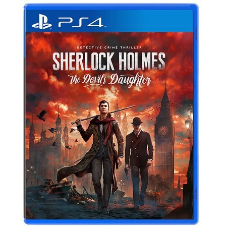 Jogo Sherlock Holmes: The Devil's Daughter - PS4