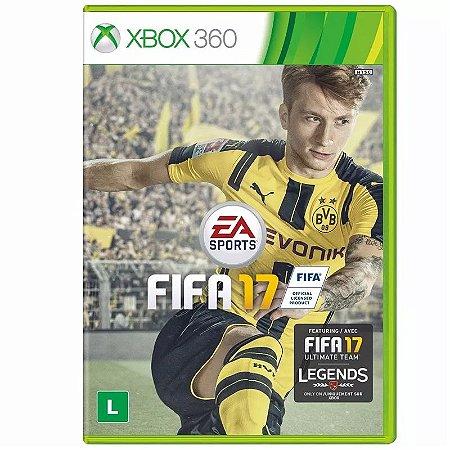 Jogo Fifa 17 (FIFA 2017) - Xbox 360