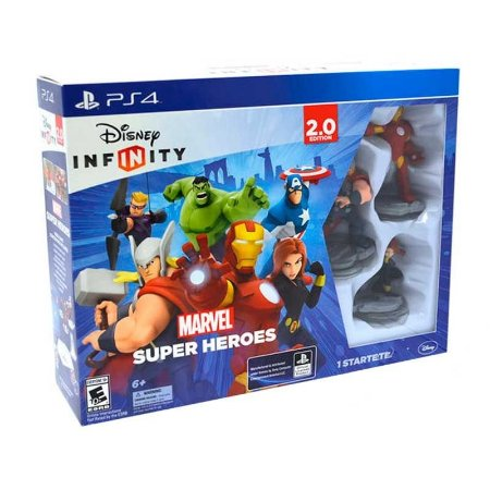 Jogo Disney Infinity 2.0: Marvel Super Heroes - PS4