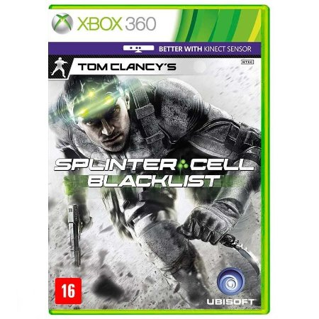 Jogo Tom Clancy's Splinter Cell: Blacklist - Xbox 360