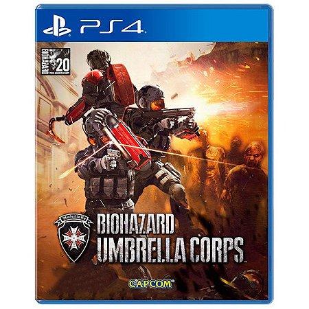 Jogo Biohazard Umbrella Corps - PS4