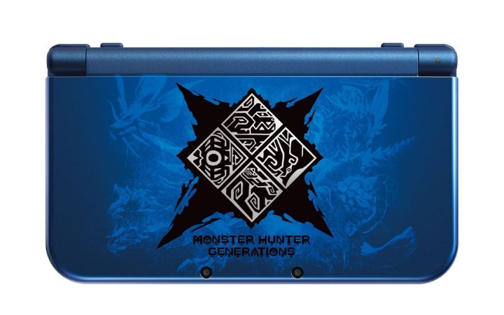 Console New Nintendo 3DS XL (Monster Hunter Generations) - Nintendo