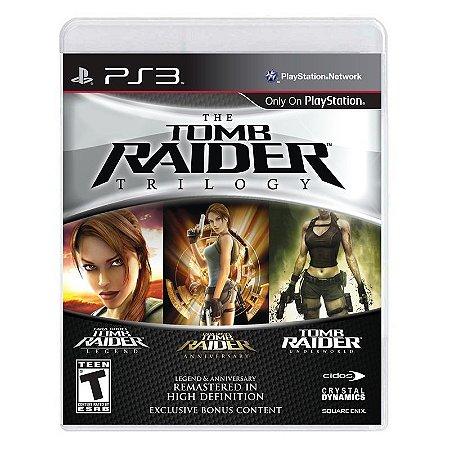 Jogo Tomb Raider Trilogy - PS3