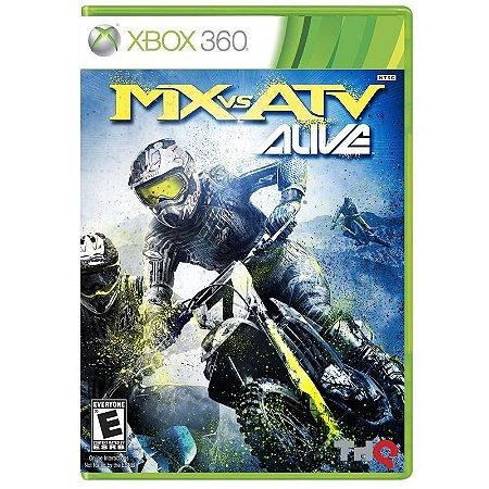 Jogo MX vs. ATV: Alive - Xbox 360