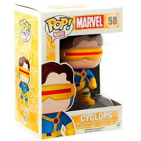 Boneco Marvel Cyclops - Funko Pop