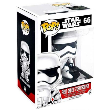 Boneco Stormtrooper 66 Star Wars - Funko Pop
