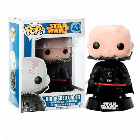 Boneco Unmasked Vader 43 Star Wars - Funko Pop