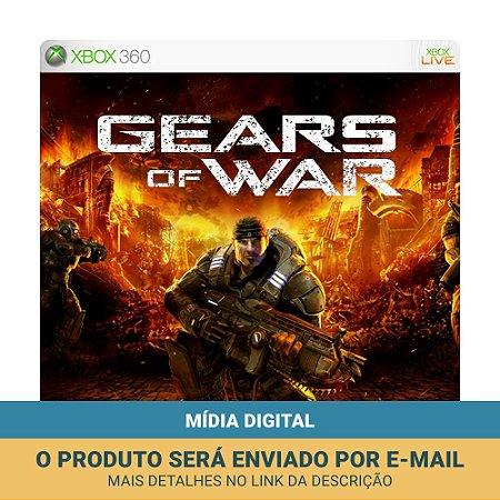 Jogo Gears of War (Mídia Digital) - Xbox 360