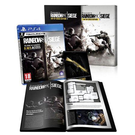 Jogo Tom Clancy's: Rainbow Six Siege (Art Of Siege Edition) - PS4