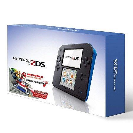 Console Nintendo 2DS Azul + Mario Kart 7 - Nintendo