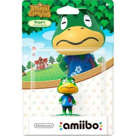 Nintendo Amiibo: Kapp'n - Animal Crossing - Wii U e New Nintendo 3DS