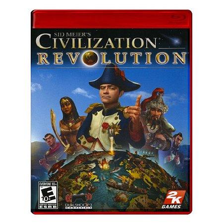 Jogo Sid Meier's Civilization: Revolution - PS3