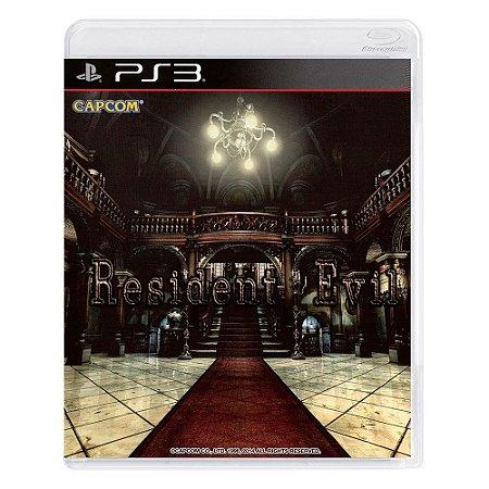 Jogo Resident Evil: HD Remaster - PS3