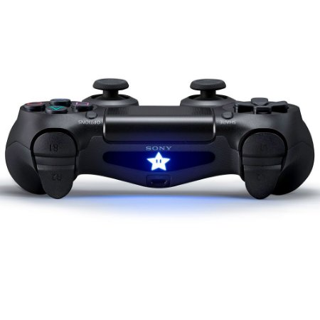 Adesivo para Light Bar Star Super Mario - Dualshock 4