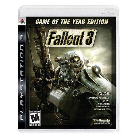 Jogo Fallout 3 (GOTY) - PS3