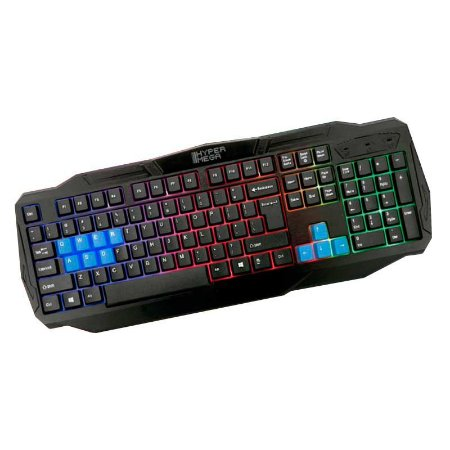 Teclado Hyper Mega Gamer E-Sports H81HM USB - PC