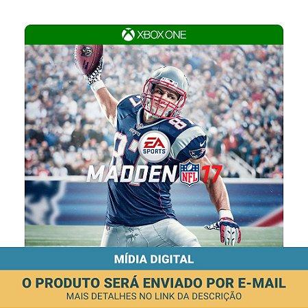 Jogo Madden NFL 17 (Mídia Digital) - Xbox One