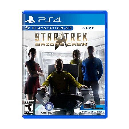 Jogo Star Trek: Bridge Crew - PS4 VR