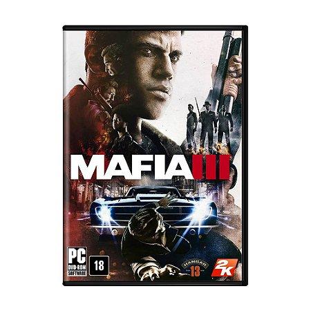 Jogo Mafia III - PC