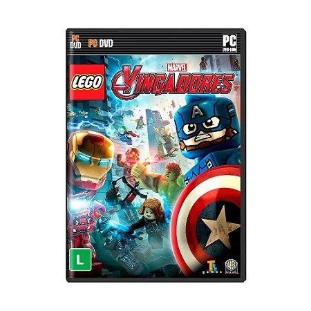 Jogo LEGO Marvel Vingadores Avengers - PC