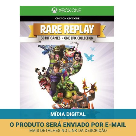 Jogo Rare Replay (Mídia digital) - Xbox One