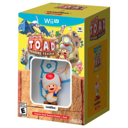 Jogo Captain Toad: Treasure Tracker + Amiibo Toad - WII U