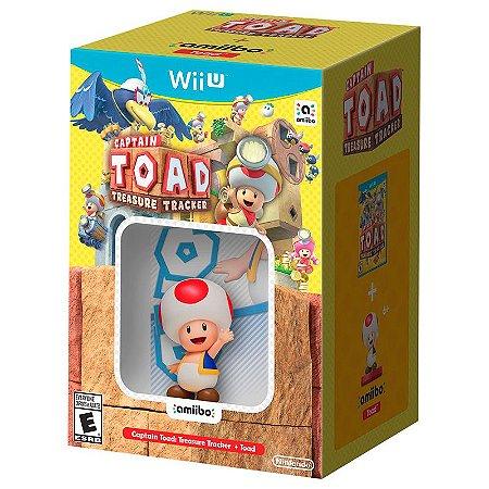 Jogo Captain Toad: Treasure Tracker (Amiibo Bundle) - Wii U