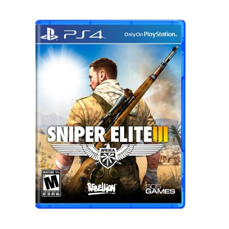 Jogo Sniper Elite III - PS4