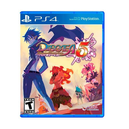 Jogo Disgaea 5: Alliance of Vengeance - PS4