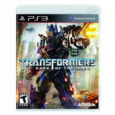Jogo Transformers: Dark of the Moon - PS3