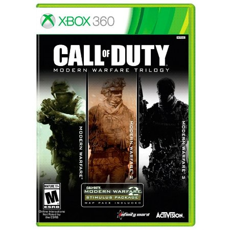 Jogo Call of Duty: Trilogia do Modern Warfare - Xbox 360