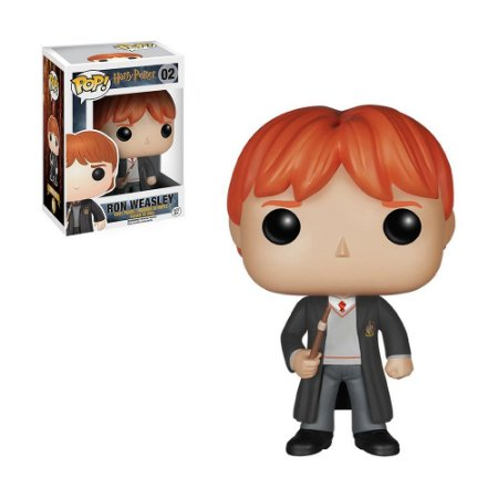 Boneco Ron Weasley 02 Harry Potter - Funko Pop!