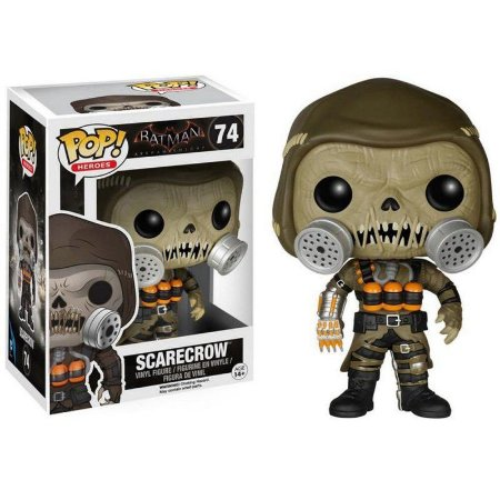 Boneco Scarecrow 74 Batman Arkham Knight - Funko Pop