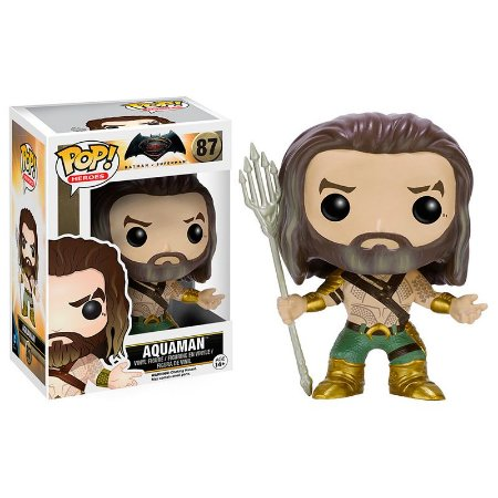Boneco Aquaman 87 Batman Vs Superman - Funko Pop