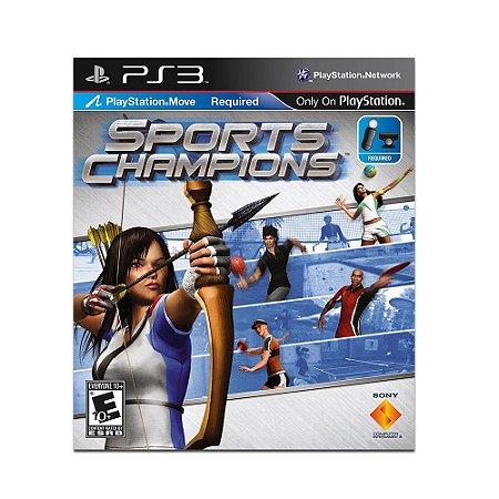 Jogo Sports Champions (Capa Dura) - PS3
