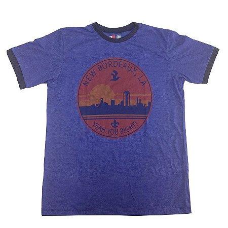 Camiseta Mafia III Roxa New Bourdeaux