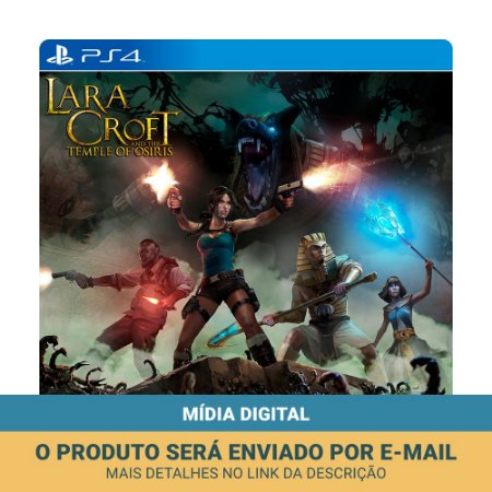Jogo Lara Croft and the Temple of Osiris (Mídia Digital) - PS4