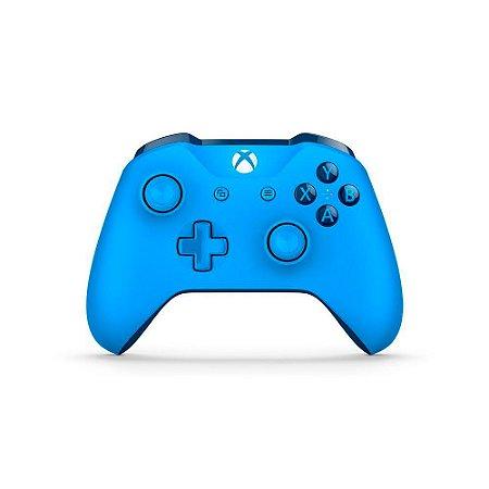 Controle Microsoft Azul - Xbox One S