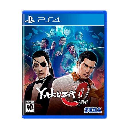 Jogo Yakuza Zero - PS4